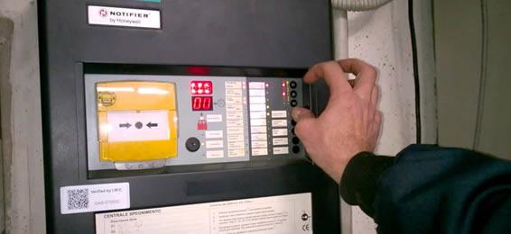 installazione antincendio notifier